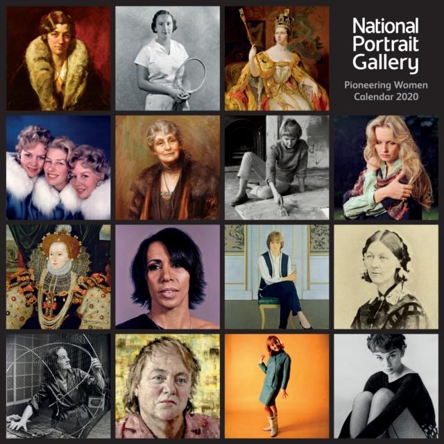 National Portrait Gallery - Pioneering Women Wall Calendar 2020 (Art Calendar)
