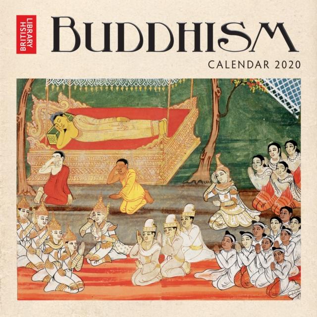 British Library - Buddhism Wall Calendar 2020 (Art Calendar)