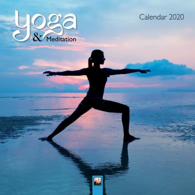 Yoga & Meditation Wall Calendar 2020 (Art Calendar)