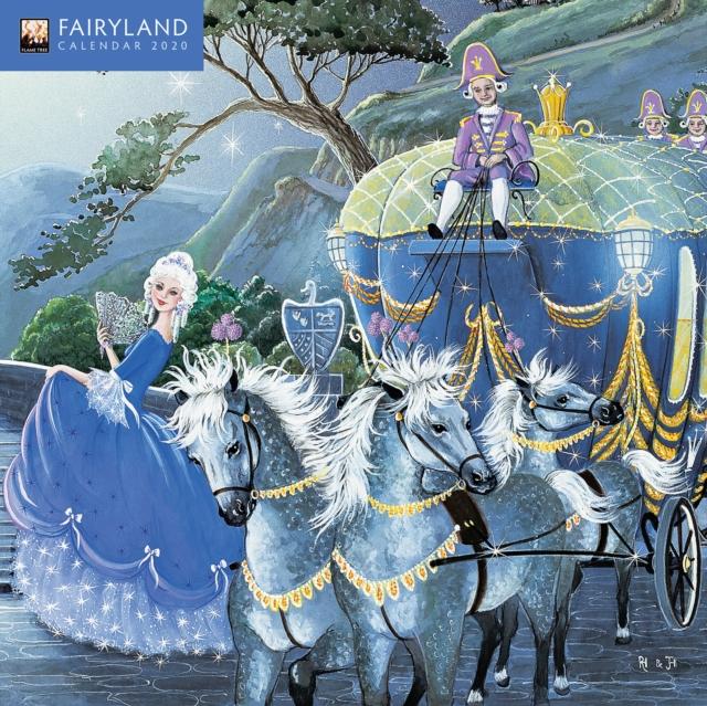 Fairyland Mini Wall calendar 2020 (Art Calendar)