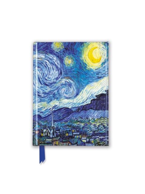 Vincent van Gogh: Starry Night (Foiled Pocket Journal)
