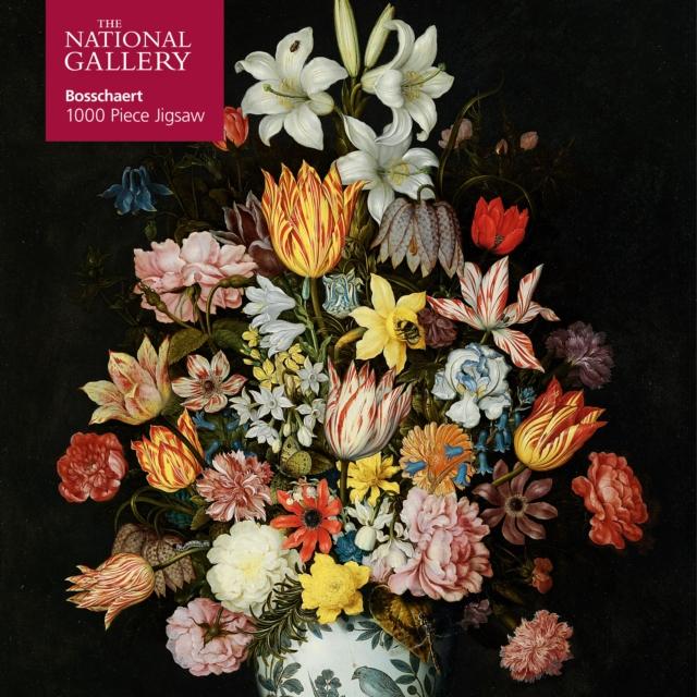 Adult Jigsaw Puzzle National Gallery Bosschaert the Elder: A Still Life of Flowers