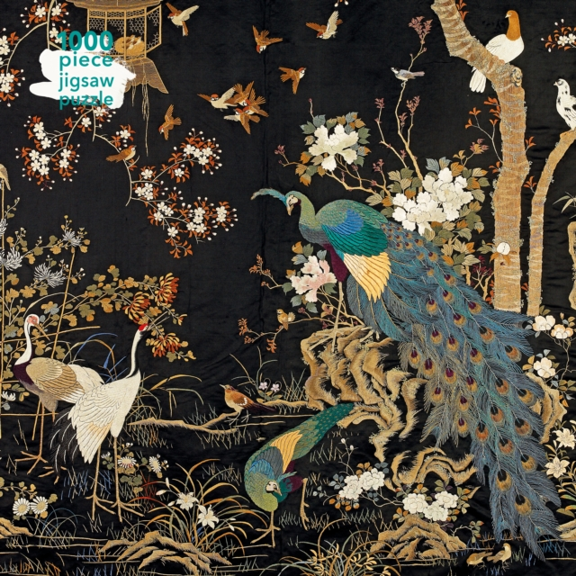 Adult Jigsaw Puzzle Ashmolean Museum: Embroidered Hanging with Peacock