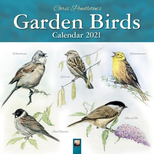 Chris Pendleton Garden Birds Wall Calendar 2021 (Art Calendar)