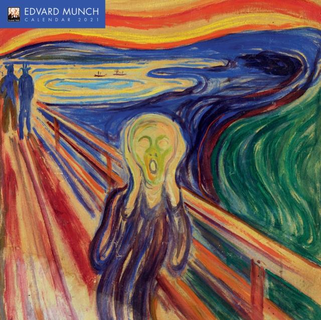 Edvard Munch Wall Calendar 2021 (Art Calendar)