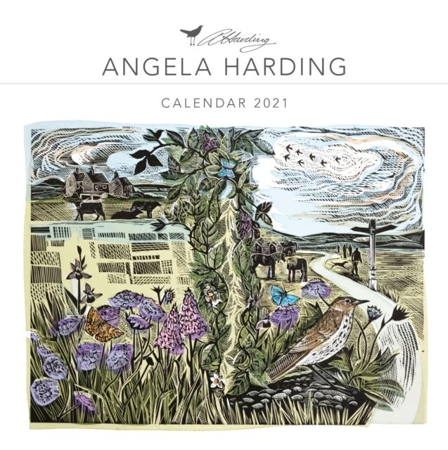 Angela Harding Wall Calendar 2021 (Art Calendar)