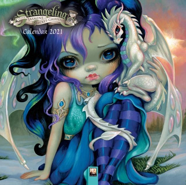 Strangeling - Jasmine Becket-Griffith Wall Calendar 2021 (Art Calendar)