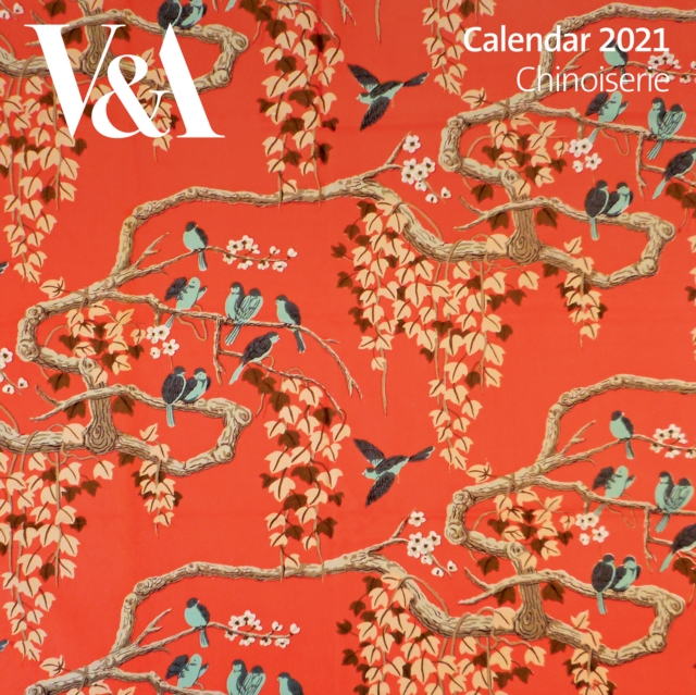 V&A - Chinoiserie Wall Calendar 2021 (Art Calendar)