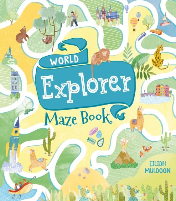 World Explorer Maze Book