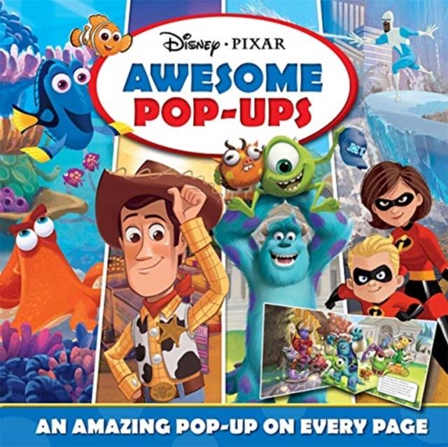 Disney Pixar Awesome Pop-ups