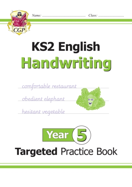 New KS2 English Targeted Practice Book: Handwriting - Year 5