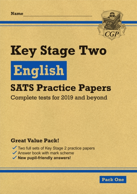 New KS2 English SATS Practice Papers: Pack 1 (for the 2020 tests)