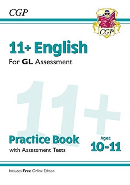 New 11+ GL English Practice Book & Assessment Tests - Ages 10-11 (with Online Edition)