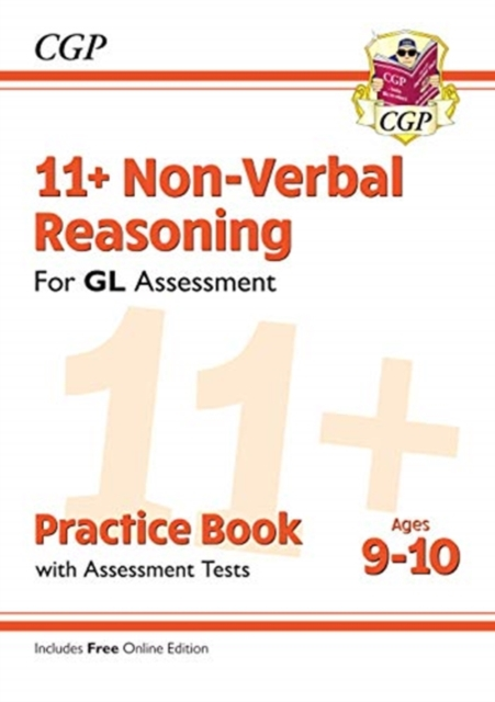 New 11+ GL Non-Verbal Reasoning Practice Book & Assessment Tests - Ages 9-10 (with Online Edition)