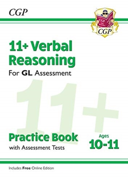 11+ GL Verbal Reasoning Practice Book & Assessment Tests - Ages 10-11 (with Online Edition)
