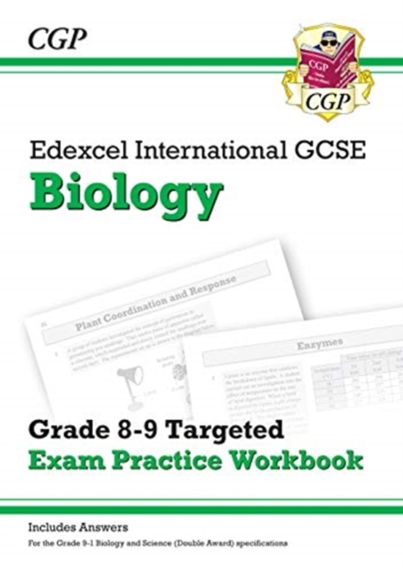 New Edexcel International GCSE Biology: Grade 8-9 Targeted Exam Practice Workbook (with answers)
