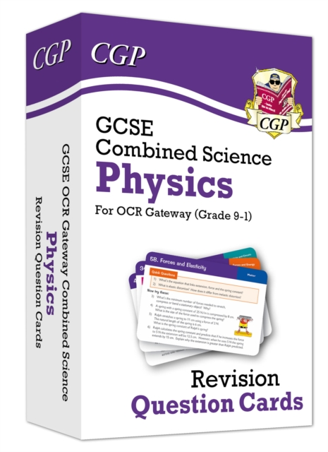 New 9-1 GCSE Combined Science: Physics OCR Gateway Revision Question Cards