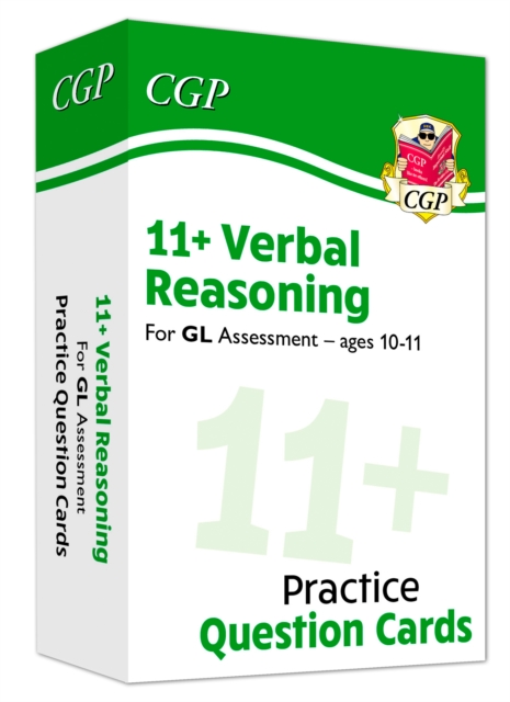 New 11+ GL Verbal Reasoning Practice Question Cards - Ages 10-11