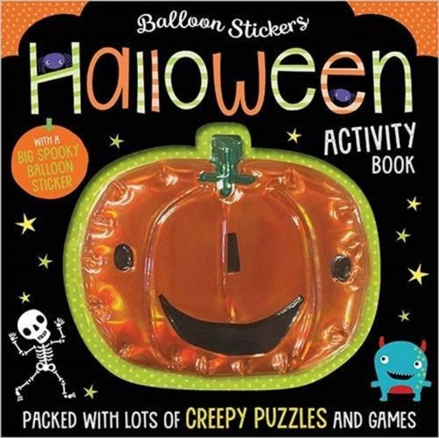 Halloween Balloon Sticker Activity Book