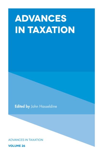 Advances in Taxation