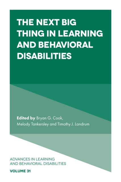 Next Big Thing in Learning and Behavioral Disabilities