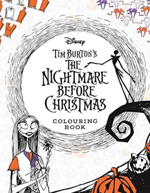 Disney Tim Burton's The Nightmare Before Christmas Colouring Book