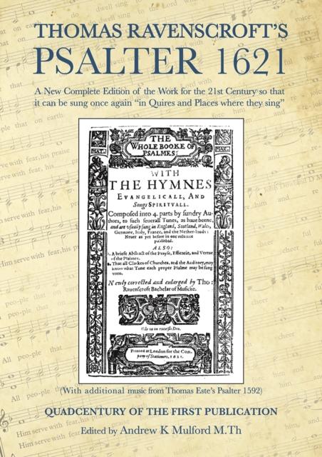 Thomas Ravenscroft's Psalter 1621