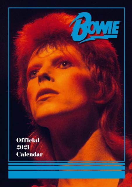 David Bowie 2021 Calendar - Official A3 Wall Format Calendar