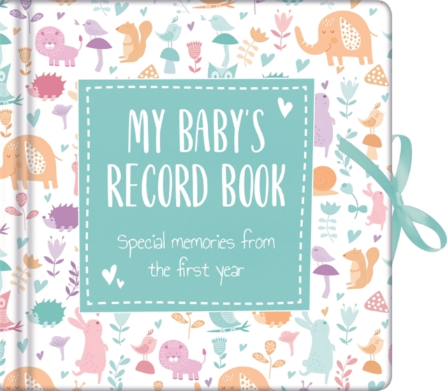 My Baby's Record Book Blue