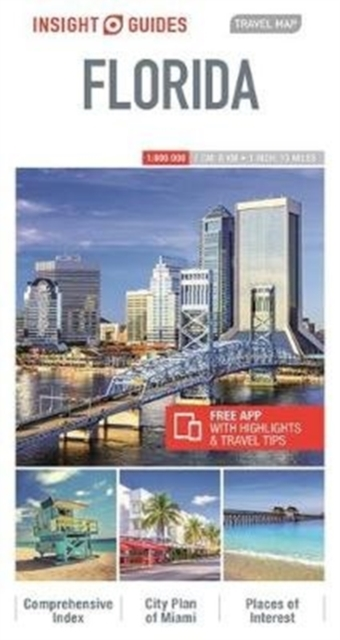 Insight Guides Travel Map Florida (Insight Maps)