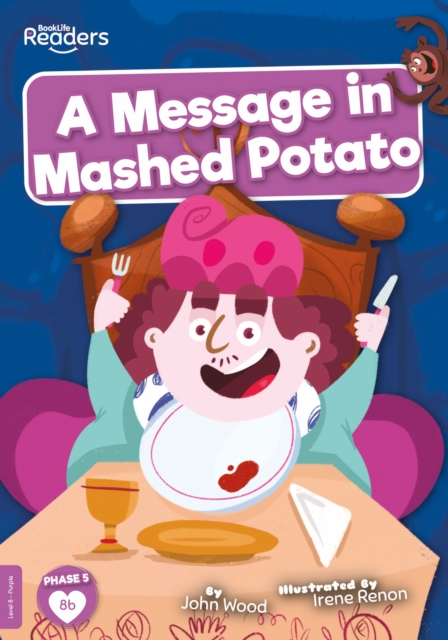 Message in Mashed Potato