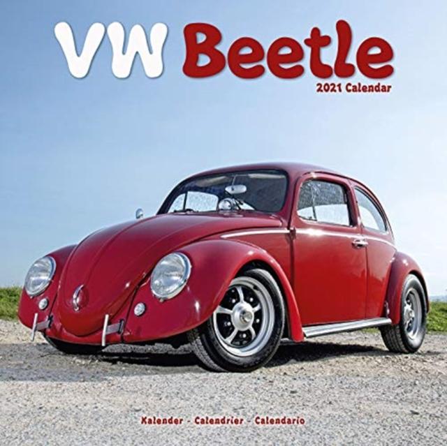 VW Beetle 2021 Wall Calendar