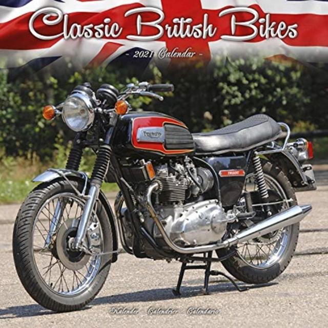 Classic British Bikes 2021 Wall Calendar