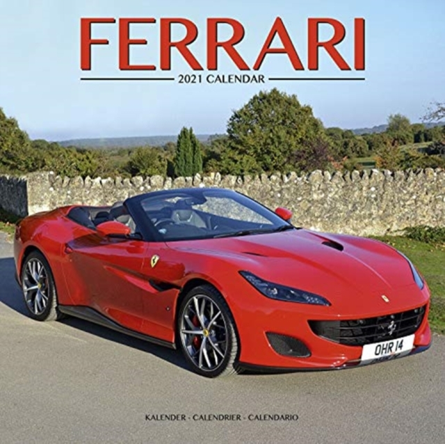 Ferrari 2021 Wall Calendar