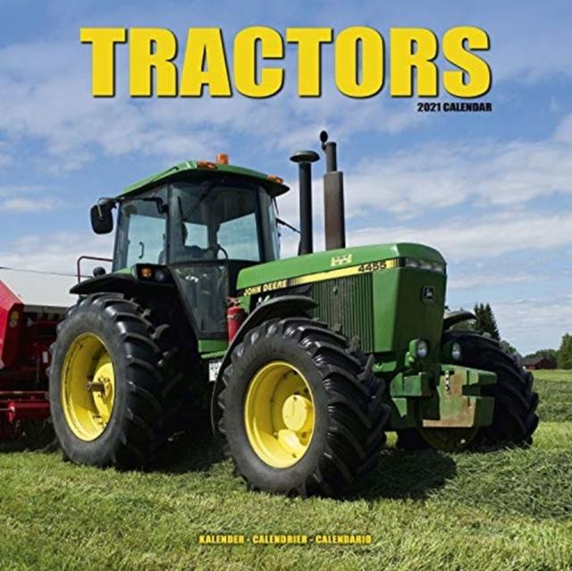 Tractors 2021 Wall Calendar