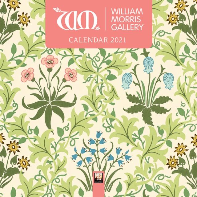 William Morris Gallery Mini Wall calendar 2021 (Art Calendar)
