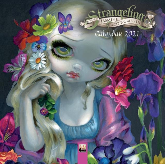 Strangeling - Jasmine Becket-Griffith Mini Wall calendar 2021 (Art Calendar)