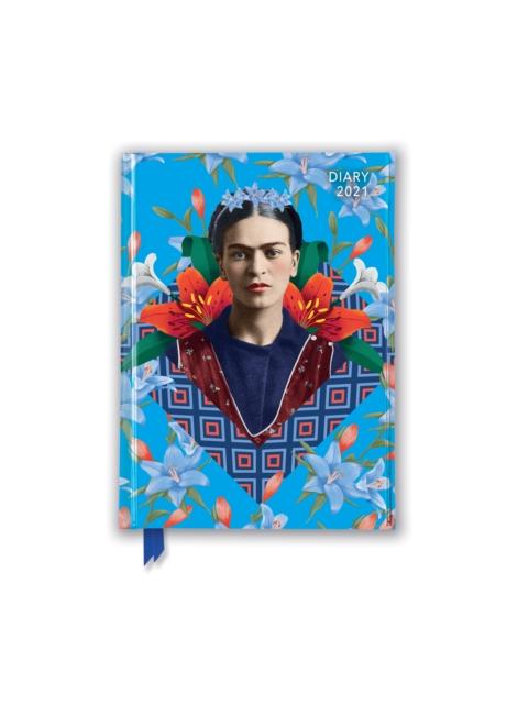Frida Kahlo - Blue Pocket Diary 2021