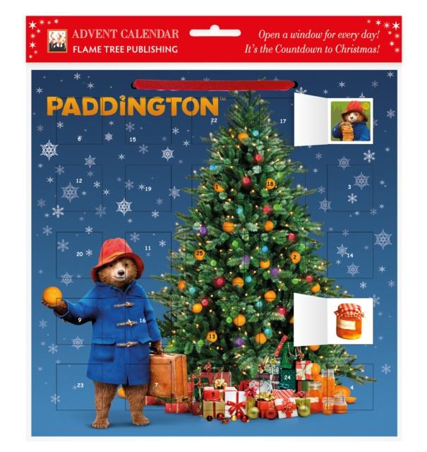 Paddington Christmas Tree Advent Calendar (with stickers)
