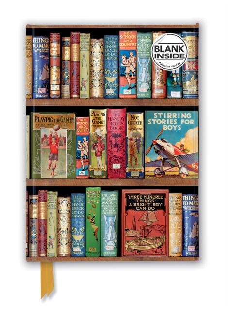 Bodleian Boys Adventure Book (Foiled Blank Journal)