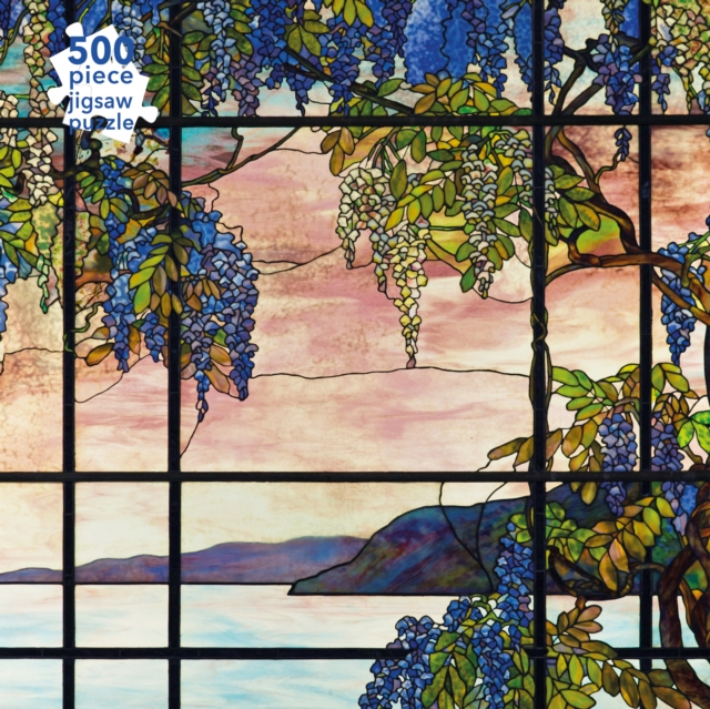Adult Jigsaw Puzzle Tiffany Studios: View of Oyster Bay (500 pieces)