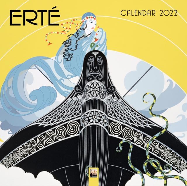 Erte Wall Calendar 2022 (Art Calendar)