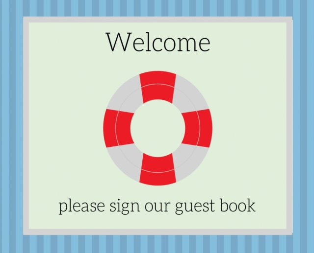 Guest Book for vacation home (Hardcover)