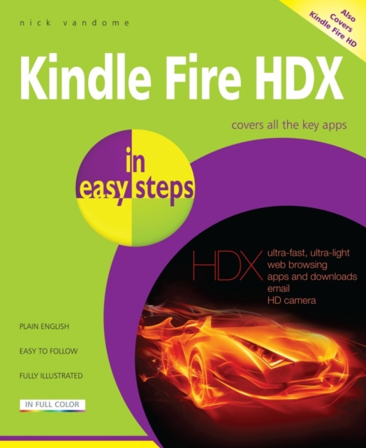 Kindle Fire HDX Tablet in Easy Steps