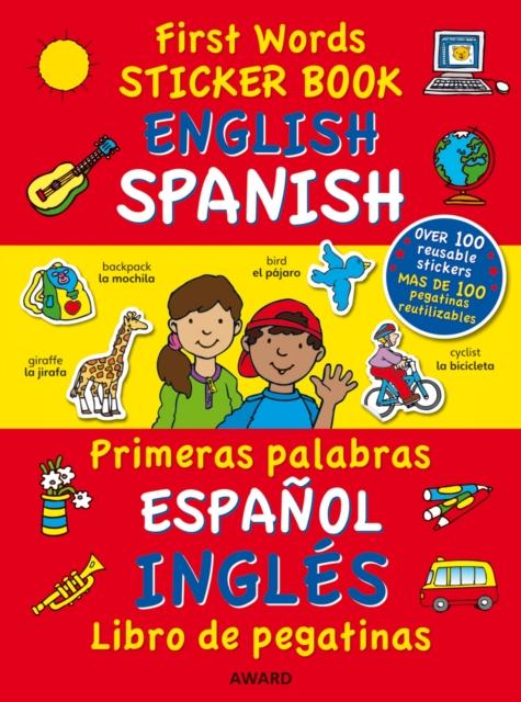 First Words Sticker Books: English/Spanish