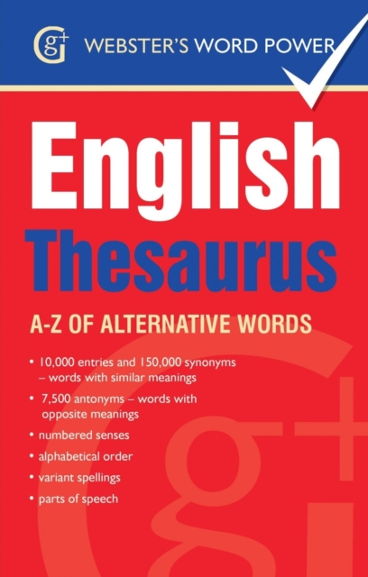 Webster's Word Power English Thesaurus