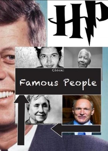 Cloze: Famous People