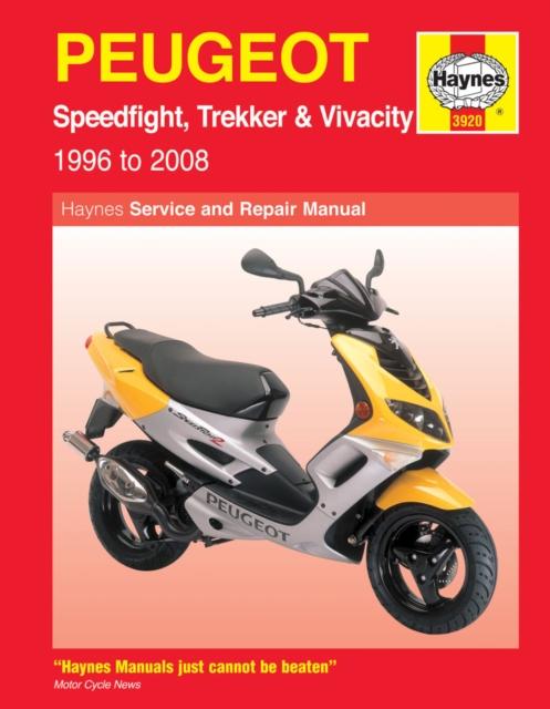 Peugeot Speedfight, Trekker & Vivacity Scooters ('96 - '08)
