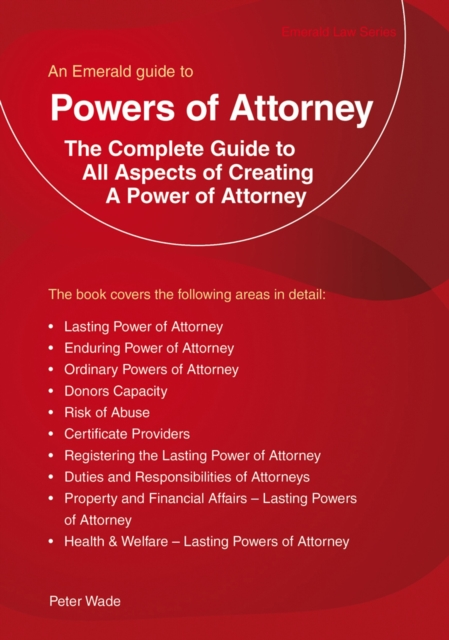 Emerald Guide To Powers Of Attorney