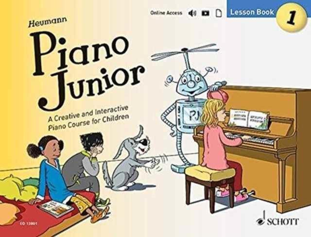 Piano Junior - Lesson Book 1